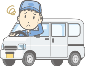 軽貨物ドライバーJPキャラクター